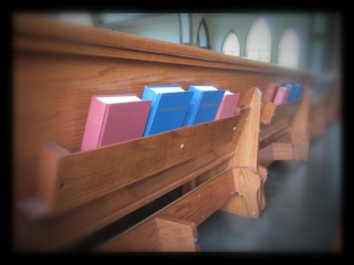 BCP and Hymnals in Pews